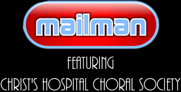 Mailman logo featuring Christ's Hospital Choral Society
