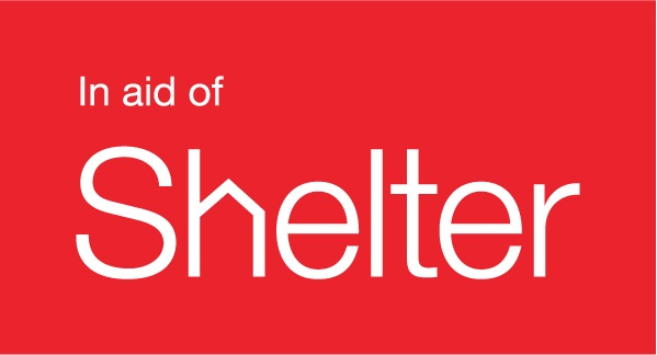 In aid of shelter logo